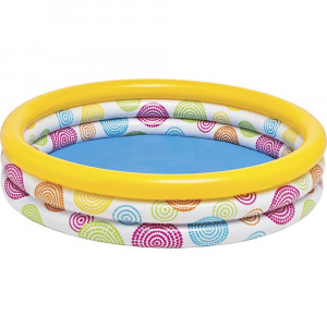 KIDS SWIMMING POOL WILD GEOMETRY 58449