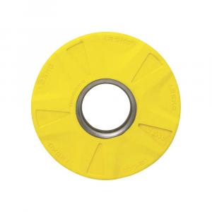 Δισκος με Επενδυση Λαστιχου 50mm 1,25kg Κιτρινος