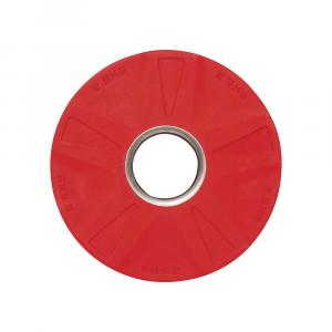 Δισκος με Επενδυση Λαστιχου 50mm 2,50kg Κοκκινος