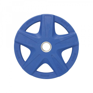Δισκος με Επενδυση Λαστιχου 50mm 20,00kg Μπλε