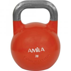 Kettlebell Aγωνιστικο 28kg Πορτοκαλι