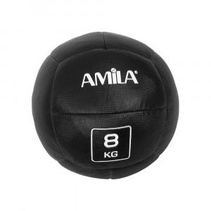 ΜΠΑΛΑ ΓΥΜΝΑΣΤΙΚΗΣ WALL BALL 8KG - AMILA 84595