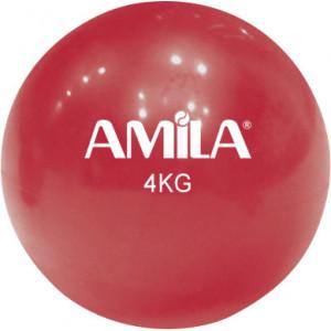Μπάλα Γυμναστικής (Toning Ball), 4kg, 16cm