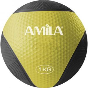 ΜΠΑΛΑ ΓΥΜΝΑΣΤΙΚΗΣ MEDICINE BALL 1KG - AMILA 84751