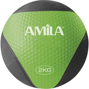 ΜΠΑΛΑ ΓΥΜΝΑΣΤΙΚΗΣ MEDICINE BALL 2KG - AMILA 84572