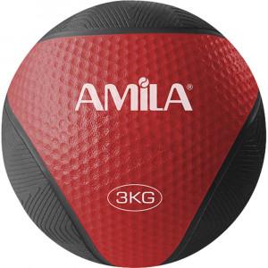 ΜΠΑΛΑ ΓΥΜΝΑΣΤΙΚΗΣ MEDICINE BALL 3KG - AMILA 84753
