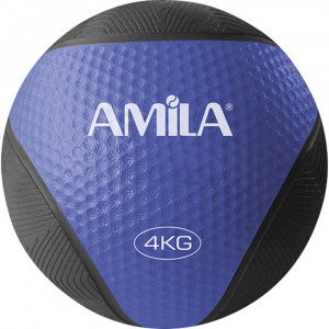 ΜΠΑΛΑ ΓΥΜΝΑΣΤΙΚΗΣ MEDICINE BALL 4KG - AMILA 84754