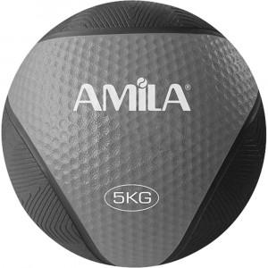 ΜΠΑΛΑ ΓΥΜΝΑΣΤΙΚΗΣ MEDICINE BALL 5KG - AMILA 84755