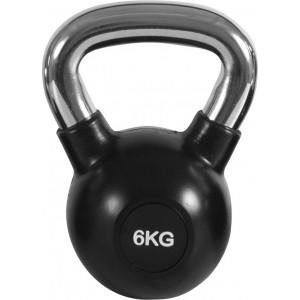 Kettlebell Rubber Cover Cr Handle 6Kg