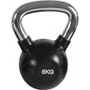 Kettlebell Rubber Cover Cr Handle 8Kg