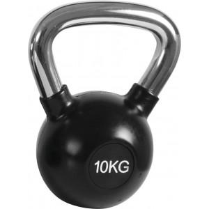 Kettlebell Rubber Cover Cr Handle 10Kg