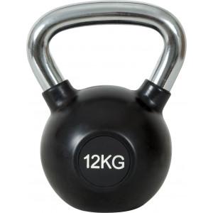 Kettlebell Rubber Cover Cr Handle 12Kg