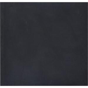 Λαστιχένιο πάτωμα, πλακάκι, λείο, 100x50cm, πάχους 20mm, μαύρο