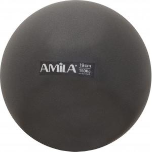 Μπάλα Pilates 19cm Μαύρη