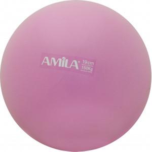 Μπάλα Pilates 19cm Ροζ