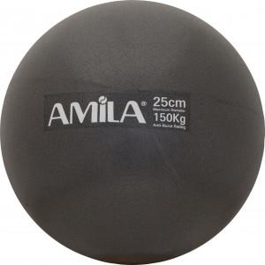 Μπάλα Pilates 25cm Μαύρη