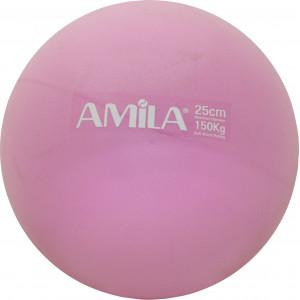 Μπάλα Pilates 25cm Ροζ