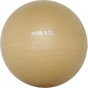 Μπάλα Γυμναστικής AMILA GYMBALL 65cm Χρυσή