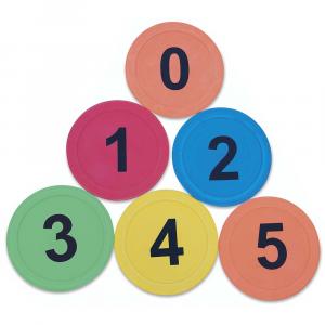 Σημαδια με νουμερα (6 τμχ.)
