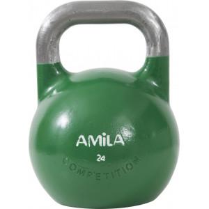 Kettlebell Aγωνιστικο 24kg Πρασινο