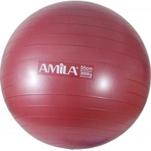 Amila Μπαλα Γυμναστικης Φ65cm 48441 Κοκκινη