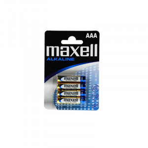Battery Alkaline Maxell LR6 size AAΑ 1.5 V Psc. 4 4902580164010