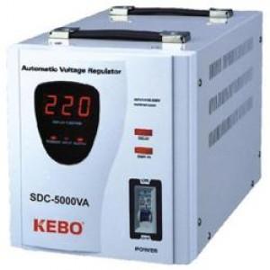 ΣΤΑΘΕΡΟΠΟΙΗΤΗΣ KEBO SDC-5000VA (ΕΩΣ 3 ΑΤΟΚΕΣ ΔΟΣΕΙΣ)