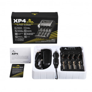 Industrial Type Battery Charger Xtar Panzer XP4 , 4 Positions with Power Display for 18650/17670/17500 6952918326052