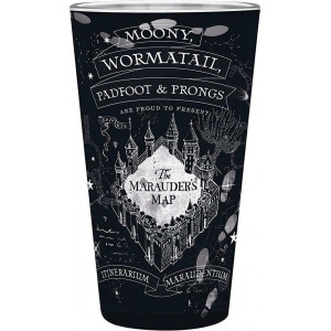 """ABYSSE HARRY POTTER - """"MARAUDER'S CUP"""" 400ML LARGE GLASS (ABYVER130) 3665361028659"""
