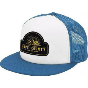 FAR CRY 5 - HOPE COUNTY TRUCKER WHITE/BLUE CAP ONE SIZE (035391) 747180373035