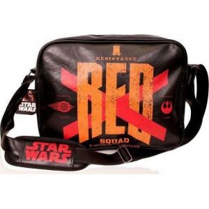 STAR WARS VII - RESISTANCE RED SQUAD MESSENGER BAG 020067