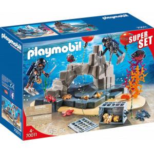 Playmobil City Action - SuperSet Ομάδα Υποβρύχιων Αποστολών 70011