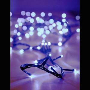 ΣΕΙΡΑ 100 LED ΜΕ ΠΡΟΓΡΑΜΜΑ, ΠΡΑΣΙΝΟ ΚΑΛΩΔΙΟ, ΛΕΥΚΟ LED ΑΝΑ 5cm. 009-490111
