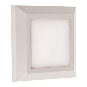 ΦΩΤΙΣΤΙΚΟ ΤΟΙΧΟΥ SLIM LED 3W IP65 230V 125X125cm ΛΕΥΚΟ 145-52004