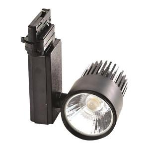 ΣΠΟΤ ΡΑΓΑΣ LED ΜΟΝΟ 30W 4000K ΜΑΥΡΟ PLUS 145-55035