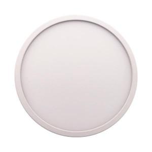 ΦΩΤΙΣΤΙΚΟ LED SLIM ΧΩΝΕΥΤΟ Φ220 30W 4000K  AC 85-265V ΛΕΥΚΟ PLUS 145-68054