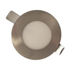 ΦΩΤΙΣΤΙΚΟ ΧΩΝΕΥΤΟ LED SLIM  Φ85 LED 3W 4000K ΣΑΤΙΝΕ PLUS 145-68604