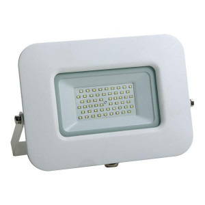 ΠΡΟΒΟΛΕΑΣ LED SMD ΒΑΣΗ 360° 50W ΛΕΥΚΟΣ IP65 6500K PLUS 147-69328