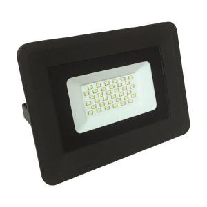 ΠΡΟΒΟΛΕΑΣ LED SMD PLUS 30W ΜΑΥΡΟΣ IP65 4000K 147-69424