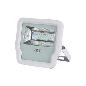 ΠΡΟΒΟΛΕΑΣ LED SMD 20W IP65 85-265V 4000K ΑΣΠΡΟΣ PRO 147-69511