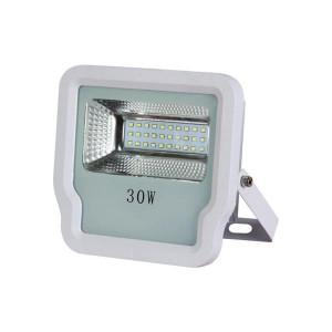 ΠΡΟΒΟΛΕΑΣ LED SMD 30W IP65 85-265V 3000K ΑΣΠΡΟΣ PRO 147-69522