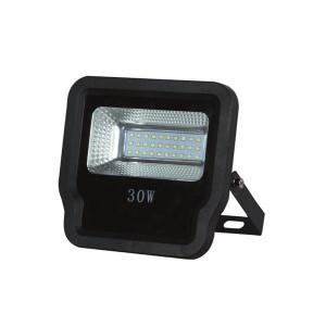 ΠΡΟΒΟΛΕΑΣ LED SMD 30W IP65 85-265V 4000K ΜΑΥΡΟΣ PRO 147-69524