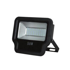 ΠΡΟΒΟΛΕΑΣ LED SMD 50W IP65 85-265V 3000K ΜΑΥΡΟΣ PRO 147-69535