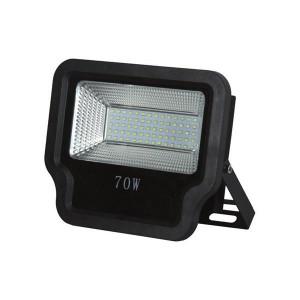 ΠΡΟΒΟΛΕΑΣ LED SMD 70W IP65 85-265V 6500K ΜΑΥΡΟΣ PRO 147-69543