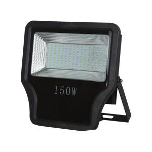ΠΡΟΒΟΛΕΑΣ LED SMD 150W IP65 85-265V 3000K ΜΑΥΡΟΣ PRO 147-69565
