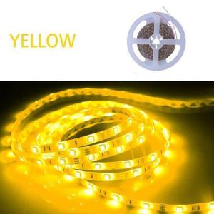 ΤΑΙΝΙΑ LED 5 ΜΕΤΡΩΝ 6W 12V ΚΙΤΡΙΝΟ IP20 147-70235
