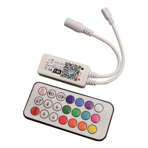 ΑΣΥΡΜΑΤΟ CONTROLLER RF Wifi RF RGBW 12A DC 12V/120W 24V/240W(MAX) 147-70632
