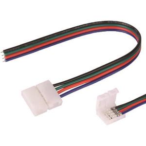 ΦΙΣ ΤΑΙΝΙΑΣ LED ΜΕ 4 ΚΑΝΑΛΙΑ RGB 5050 (7,2-14,4W) 12V/24V DC 147-70701