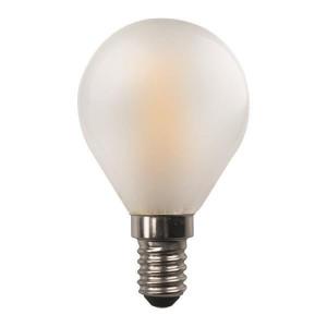 ΛΑΜΠΑ LED ΣΦΑΙΡΙΚΗ CROSSED FILAMENT 4.5W E14 3000K 220-240V FROST 147-78224