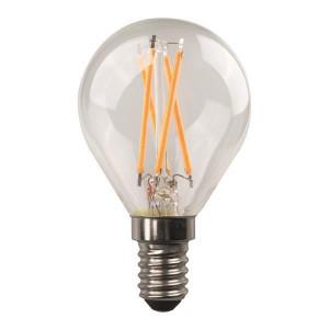 ΛΑΜΠΑ LED ΣΦΑΙΡΙΚΗ CROSSED FILAMENT 4.5W E14 2700K 220-240V 147-78231